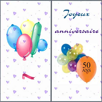 carte anniversaire 50 ans gratuite a imprimer. Black Bedroom Furniture Sets. Home Design Ideas