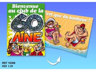 Carte Anniversaire 60 Ans Marrante Coleteremelly Official
