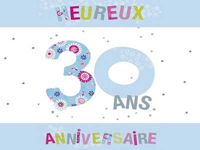 carte d invitation anniversaire 30 ans gratuite a imprimer. Black Bedroom Furniture Sets. Home Design Ideas