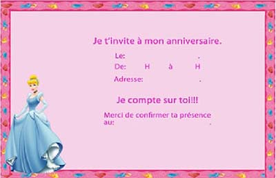 carte d invitation anniversaire enfant gratuite a imprimer. Black Bedroom Furniture Sets. Home Design Ideas