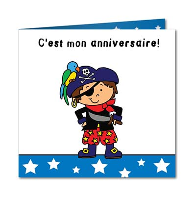carte d invitation anniversaire pirate gratuite. Black Bedroom Furniture Sets. Home Design Ideas