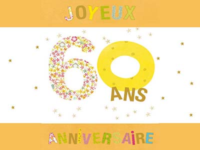 cartes anniversaire 60 ans gratuites. Black Bedroom Furniture Sets. Home Design Ideas