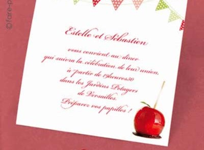 carte d invitation anniversaire de mariage. Black Bedroom Furniture Sets. Home Design Ideas