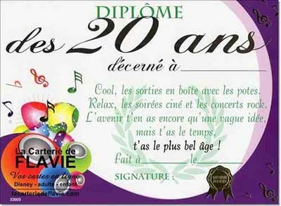 carte d invitation anniversaire 20 ans. Black Bedroom Furniture Sets. Home Design Ideas
