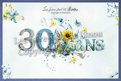 Étonnant carte invitation anniversaire 30 ans | BI-85