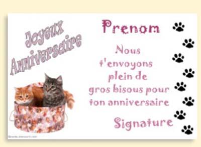 Carte Anniversaire A Imprimer 1001 Carteanniversaire Fr
