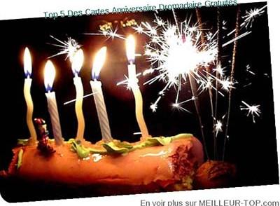 Carte anniversaire en ligne gratuite